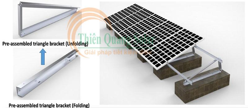 Lượng điện do pin mặt trời tạo ra phụ thuộc vào hướng, góc nghiêng và sự chiếu sáng của mặt trời